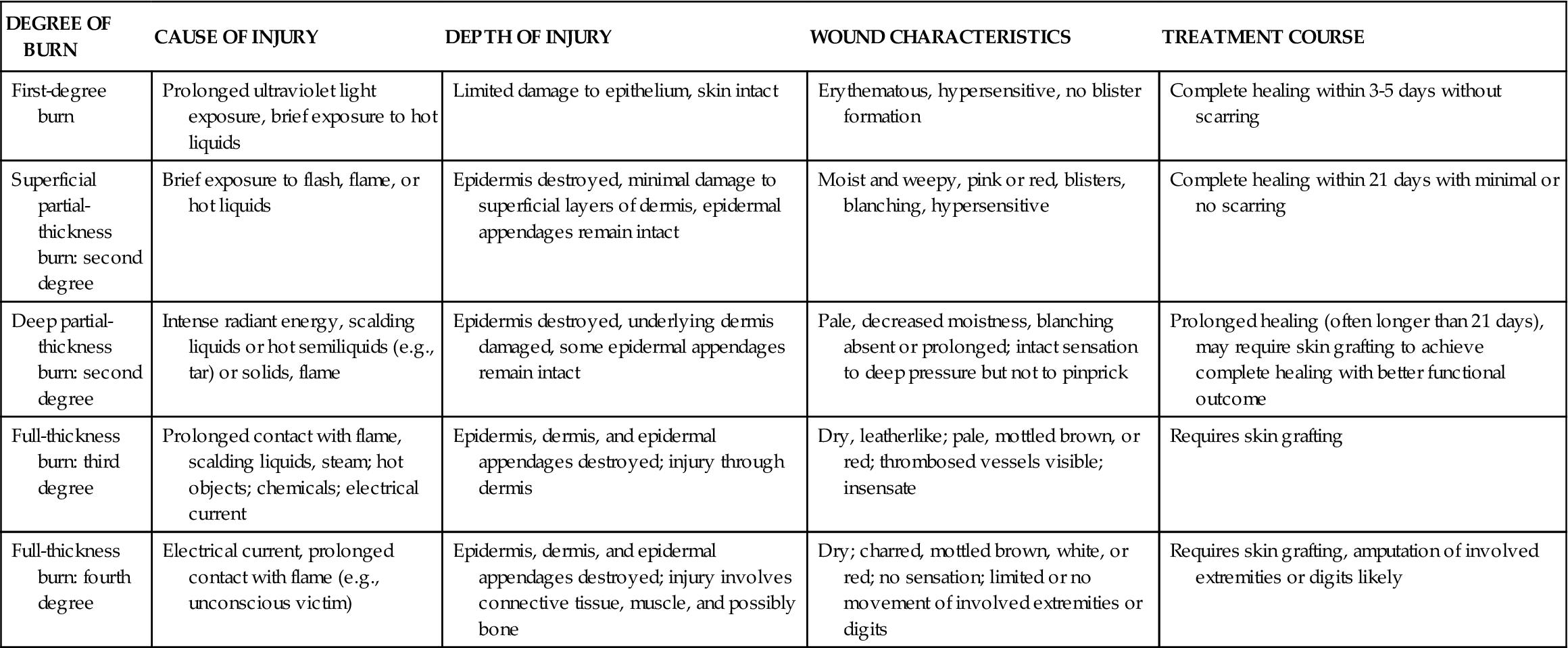 burn injuries basicmedical key image